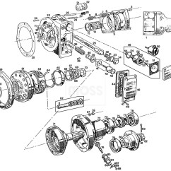 Moss Diagram Labeled Jeep Tj Front Suspension Overdrive Units And Components 4 Synchro Mgb