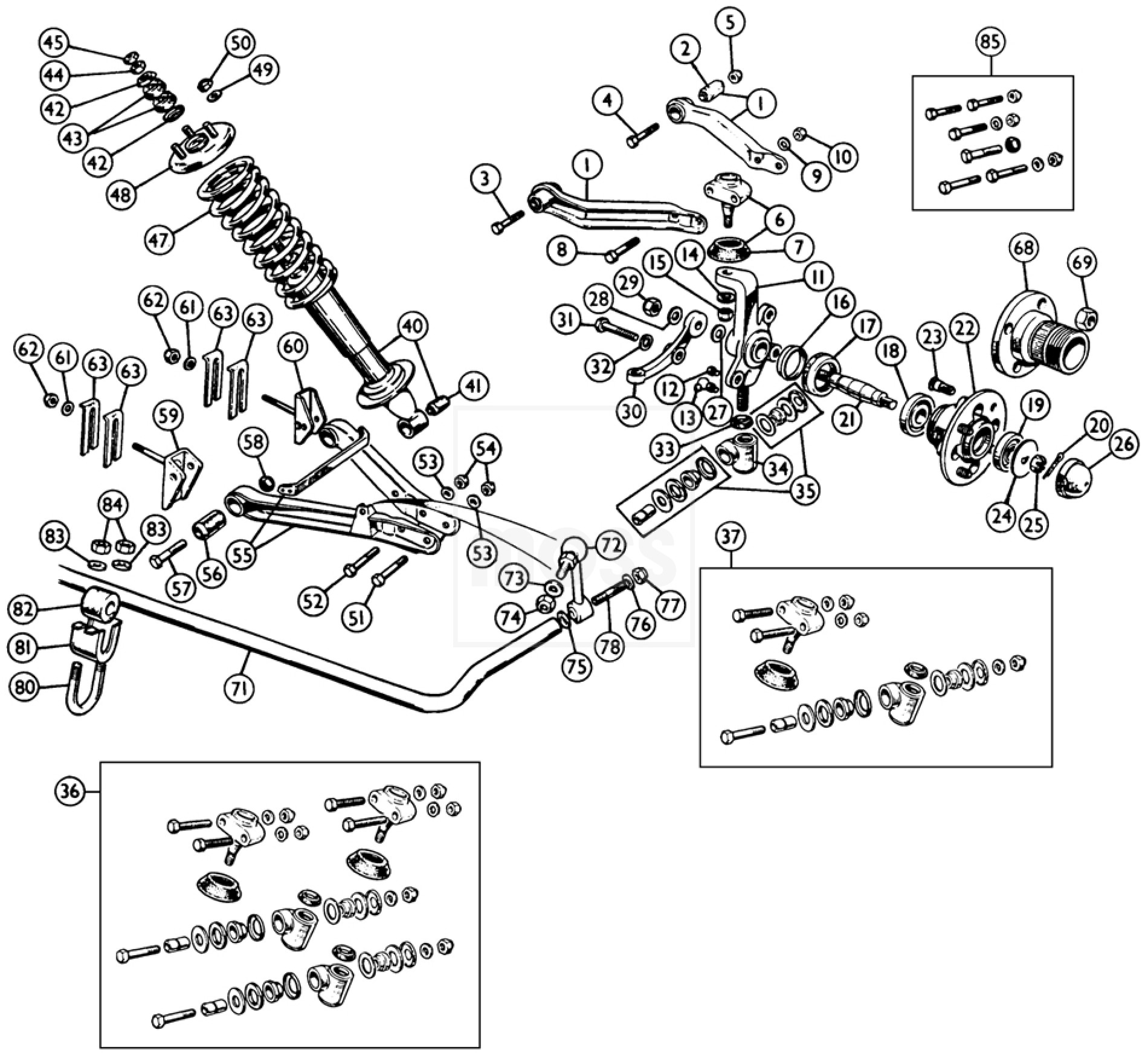 Ford C6 Automatic Transmission Diagram. Ford. Auto Wiring