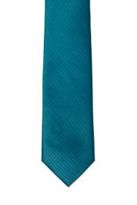 Turquoise Skinny Two Tone Tie