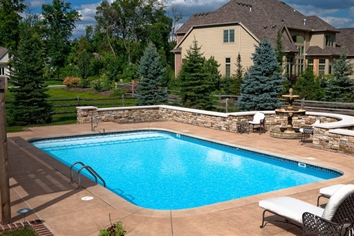 Photos of Our Pools  Mossing Pools  Custom Swimming