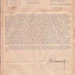 V-Mail unmicrofished, front side 1944
