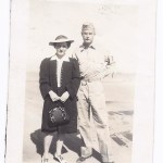 Charlotte Moss and Harold, 1942