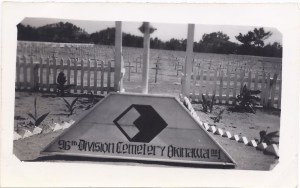 96th Division Cemetery, Okinawa, 1945