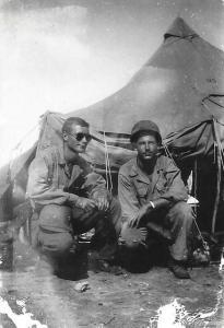 Harold and Dick Moss, Saipan 1944