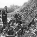 Interned Japanese family, Tinian 1944