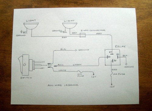 small resolution of wiring driving lights gauge wiring diagram expert how to wire driving fog lights moss motoring wiring