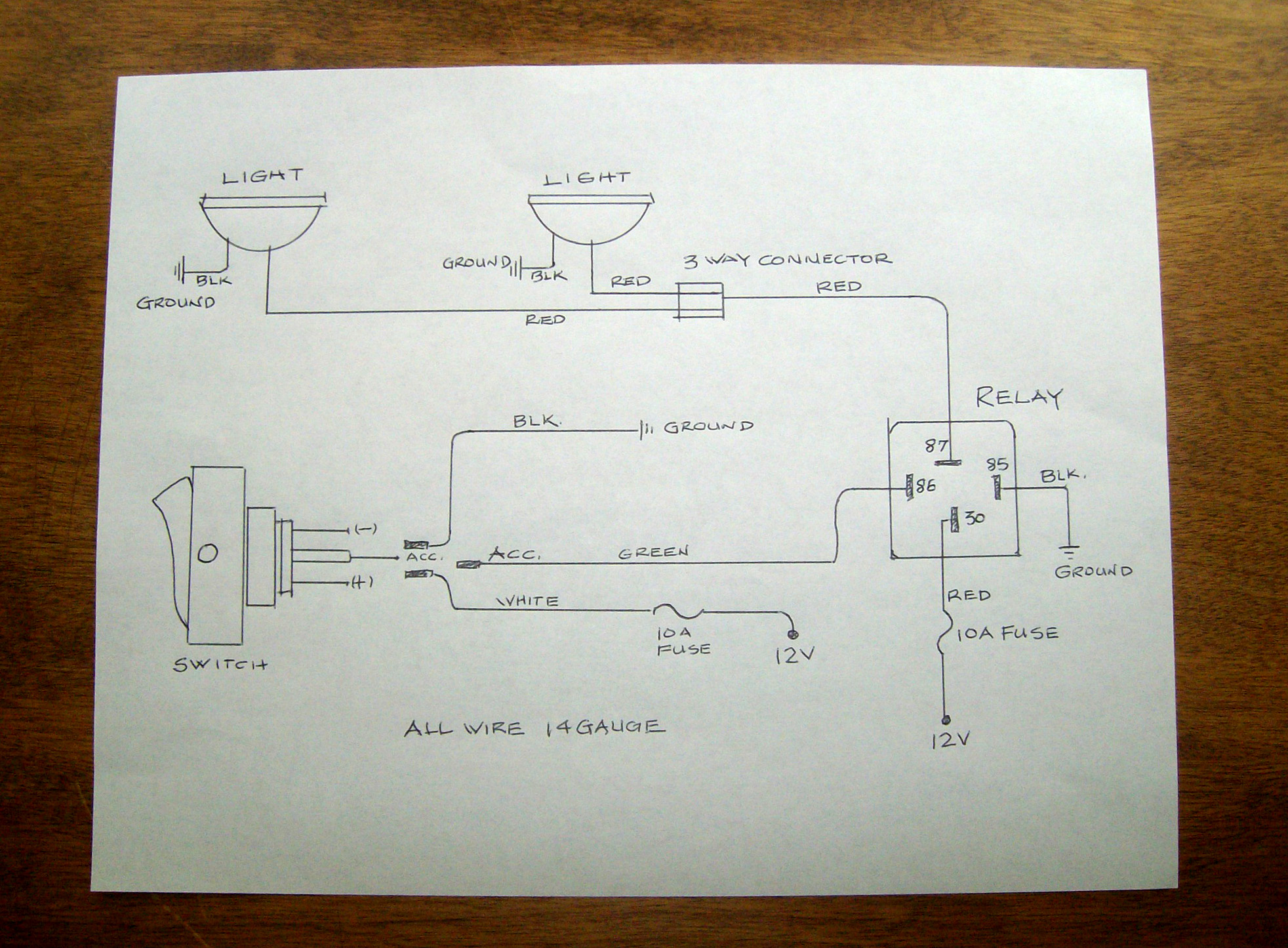 Aux Light Wiring Diagram 1