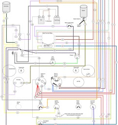 austin healey wiring diagram [ 800 x 1242 Pixel ]