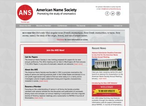 The American Name Society