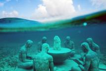 Underwater Museum In Cancun Mexico Beautiful Spots