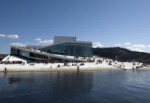 Oslo Opera House Norway - Beautiful Spots