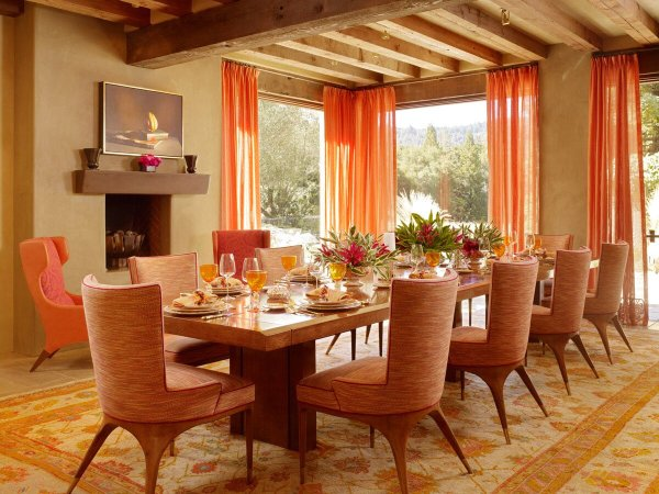 Dining Room Decorating Ideas Curtains