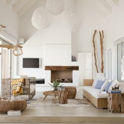 Living Rooms Decorated By Joanna Gaines Modern Furniture Room Designs Top 21 Beach Home Decor Examples | Mostbeautifulthings