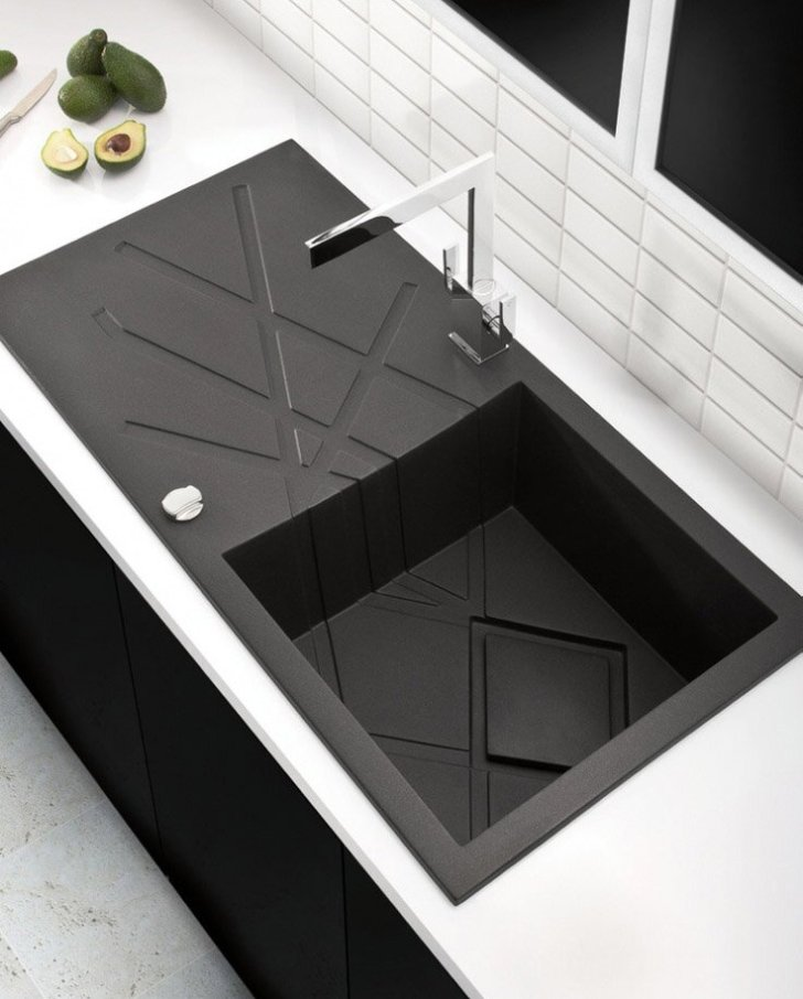 Top Black Kitchen Sink Designs Mostbeautifulthings