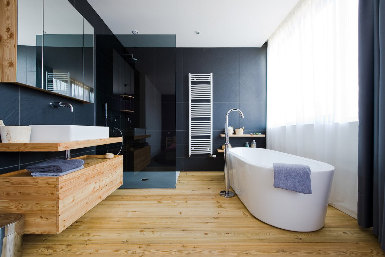 Top 25 Modern Bathroom Design Examples MostBeautifulThings