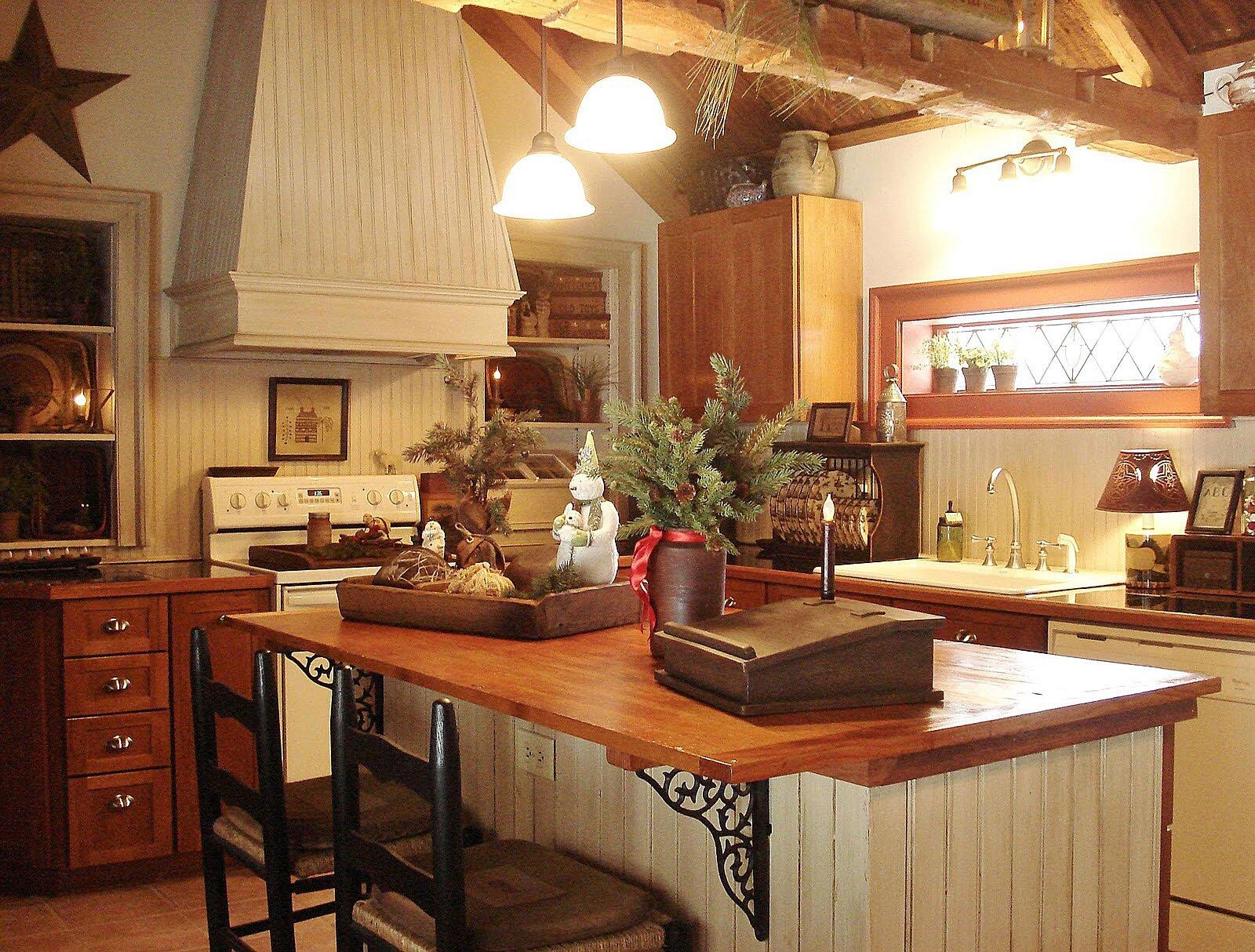 Superior Kitchen Primitive Decor. Country Primitive Home Decorating Ideas