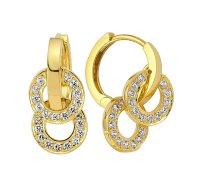 16 Nice Designs Of Gold Hoop Earrings   MostBeautifulThings