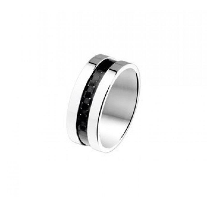 Stalen heren ring  Mostert Juweliers