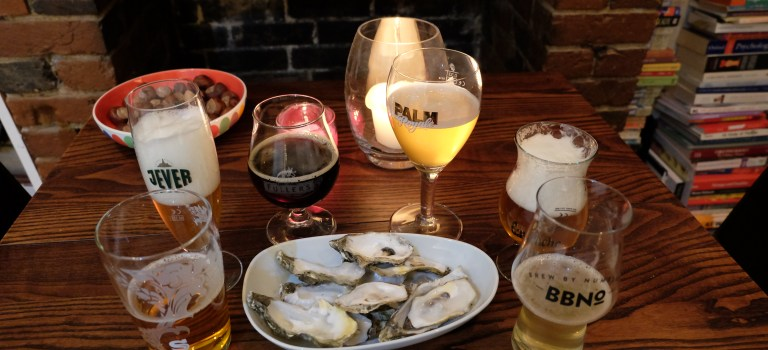 what beer goes best with oysters?