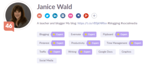 Klout helps #bloggers