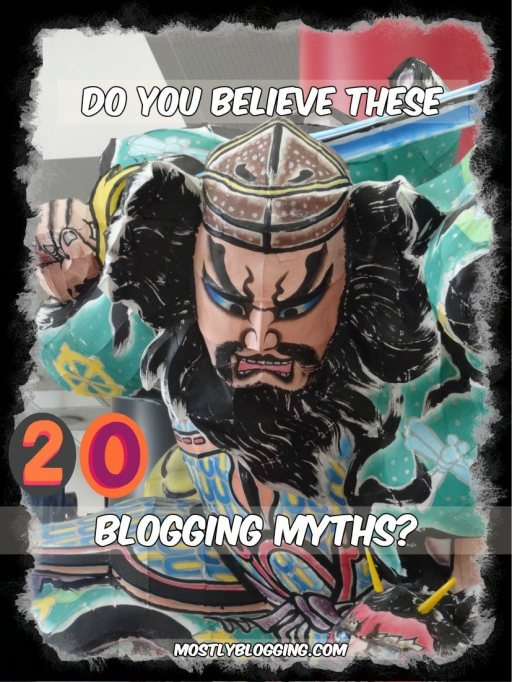 Bloggers should not believe these blogging myths.