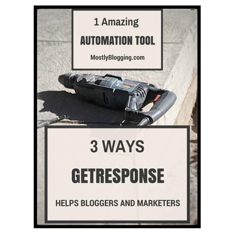 GetResponse helps #bloggers and #marketers #tech