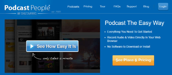PodcastPeople helps #bloggers with podcasts