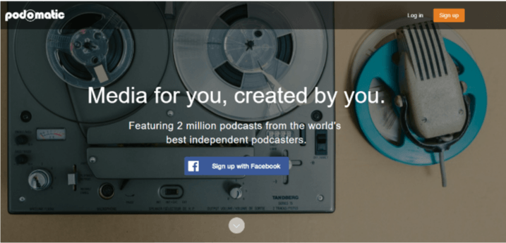 Podomatic helps #bloggers with podcasts