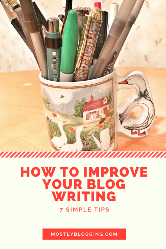 Blog Writing is easy with these 7 simple tips for #writing on a #blog