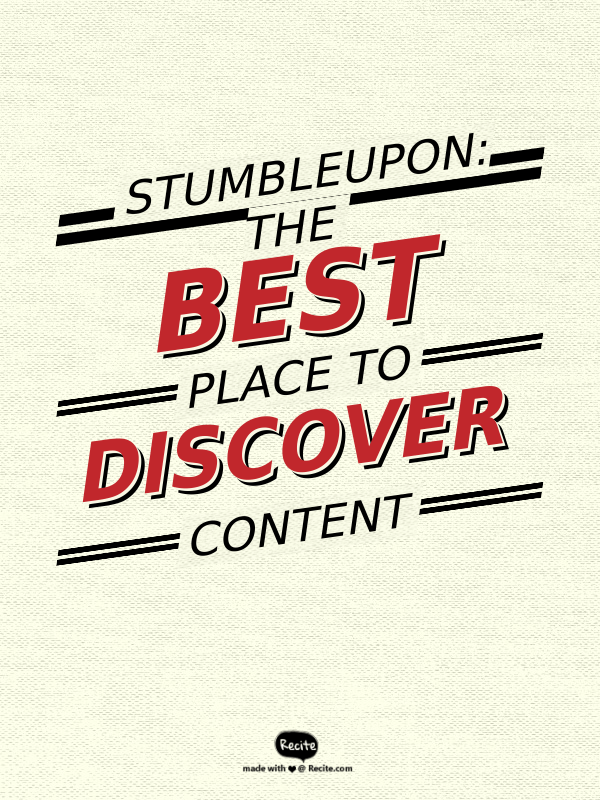StumbleUpon is a content curation site that can bring #BlogTraffic