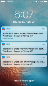 What is IFTTT? It gives you more time in your day Free #BloggingTools