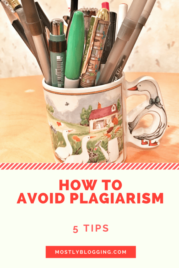 You can avoid plagiarism with these 5 #WritingTips