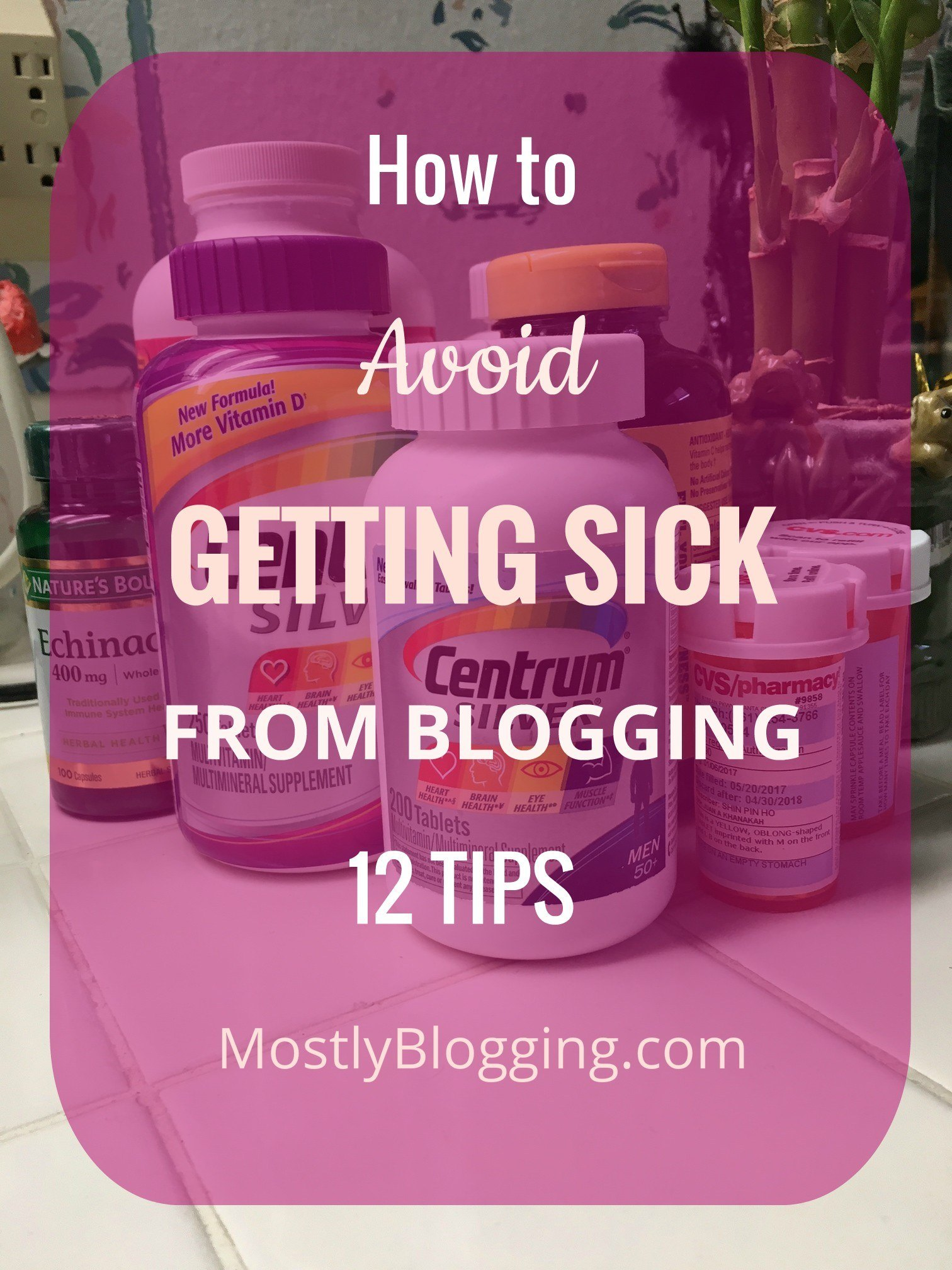 Don't Worry: How to Easily Stay a Healthy Blogger, 12 Ways