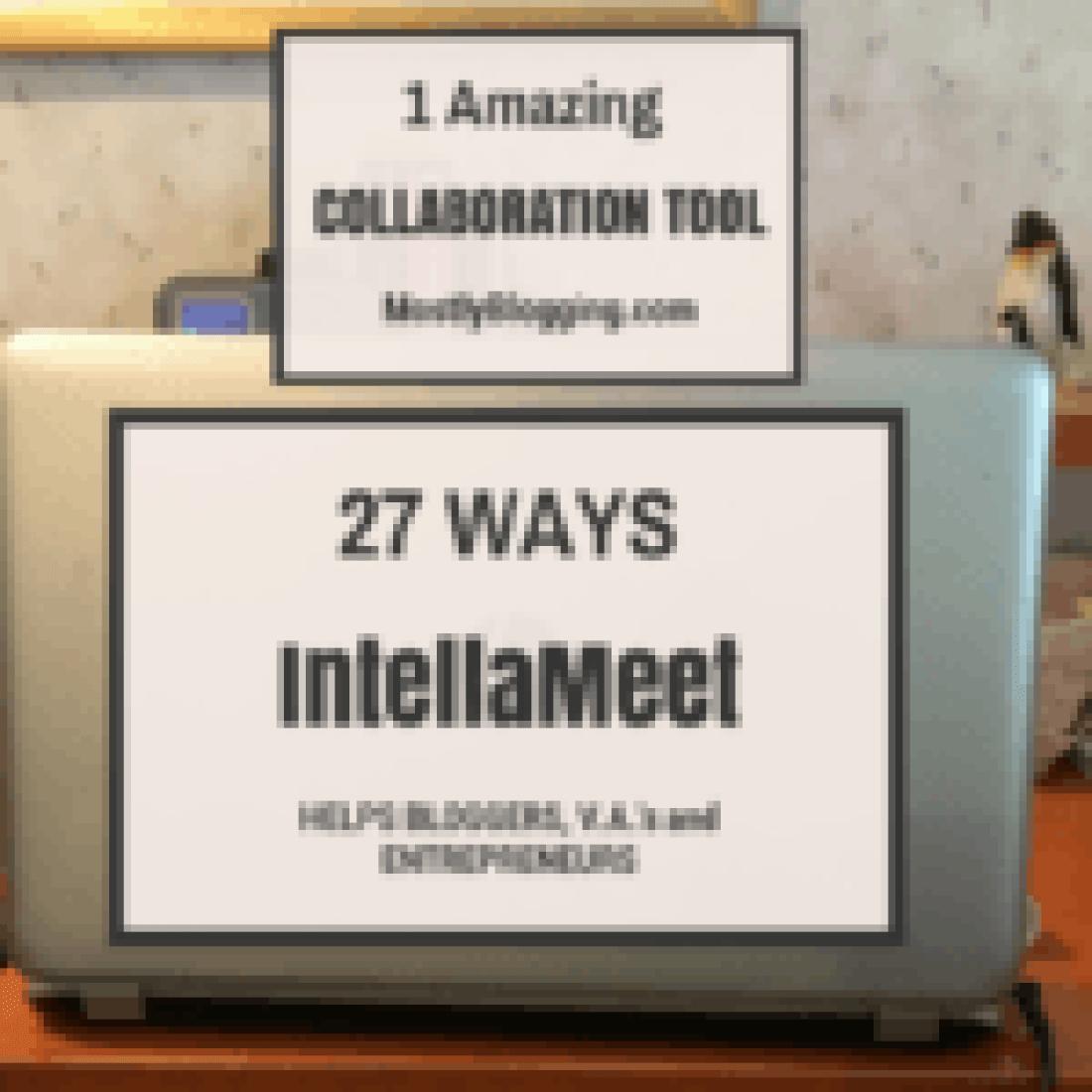 Intellameet helps #bloggers, virtual assistants, and #entrepreneurs