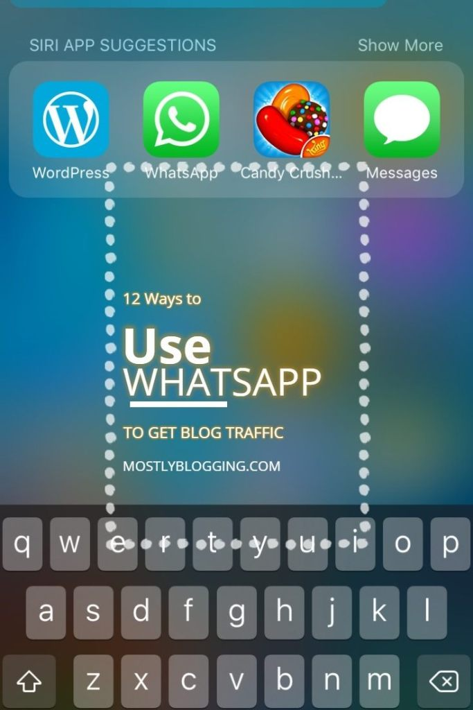 #Bloggers can use WhatsApp for #TrafficGeneration