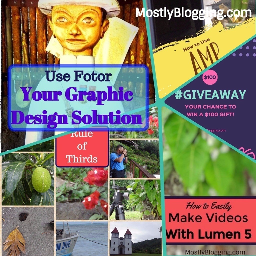 Fotor Photo Editor is your amazing graphic design solution