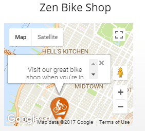 Google Map Widget
