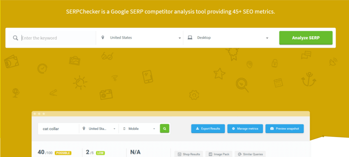 5 free SERP Checker tools