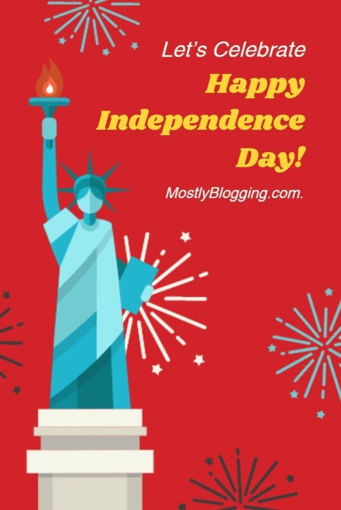 4th of July themes blog party