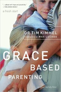 book cover - Grace Based Parenting by Dr. Tim Kimmel