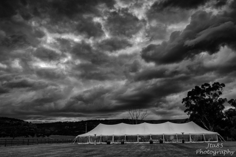 No.18 Buy Now Scone Wedding. The ominous & dramatic clouds before the wedding day were, fortunately, not a sign of things to come.