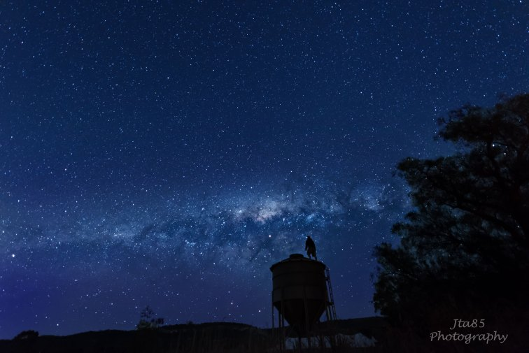 No.16 Buy Now One of the best things about coming home is the vibrancy of an Upper Hunter Milky Way. The Other Day