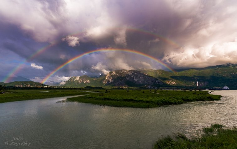No.22 Squamish Photography Rocks - Double Rainbow Chief
