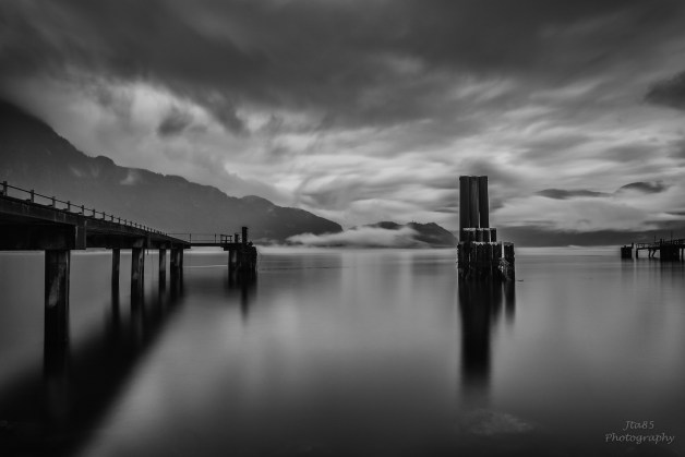 No.26 Buy Now A calm overcast 'sunset' at Nexen Beach Squamish, BC