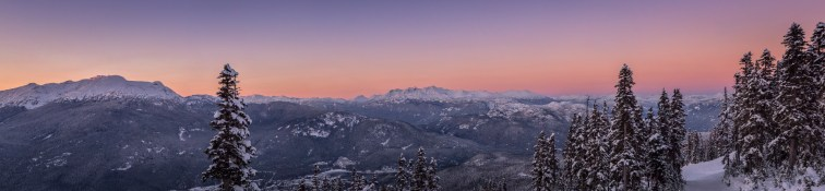 No. 29 Whistler Blackcomb Sunset