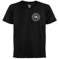 Lost Dharma Initiative black t-shirt