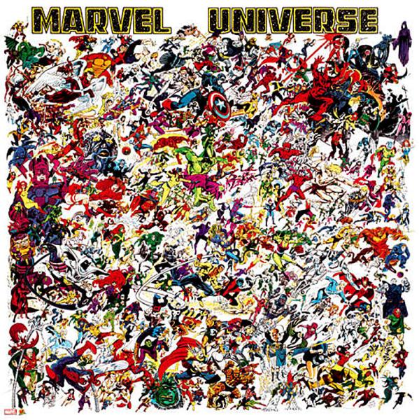 Marvel Universe Poster