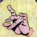 Mordo's hand