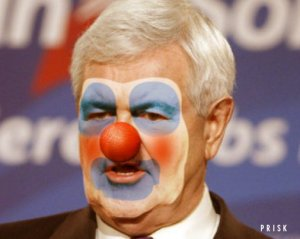 Newt Gingrich: Clown