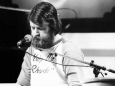 Brian Wilson: Bearded Beach Boy at Microphone